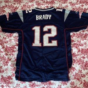 Tom Brady patriots jersey.